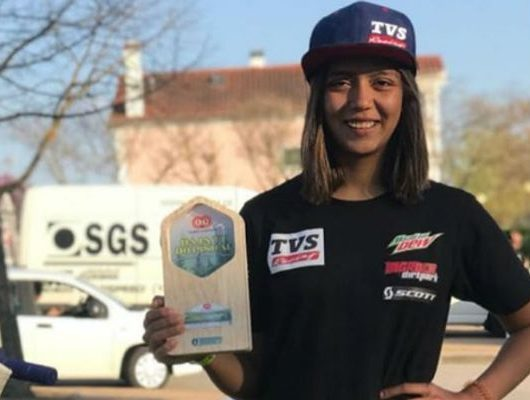 23-year-old Aishwarya Pissay created history as she became the first Indian to win the FIM Bajas World Cup in the women's category at Varpalota, Hungary
