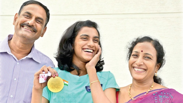 PV Sindhu success