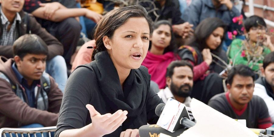 Shehla Rashid Challenges Section 370