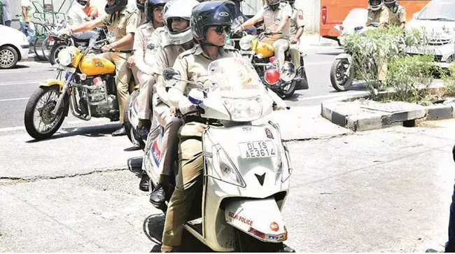 Women Cops Patrol 15 Districts