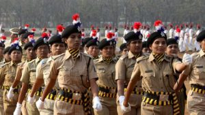 Women Delhi police officers