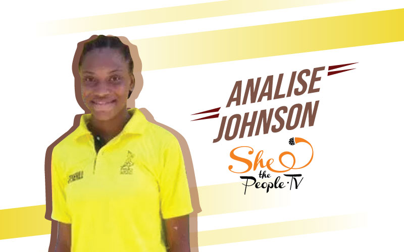 Meet 13-Year-Old Analise Johnson From Jamaica Cricket