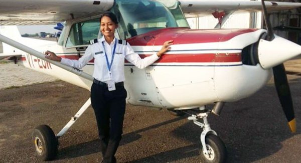 Anupriya Madhumita Lakra from Odisha becomes first tribal woman to fly commercial plane