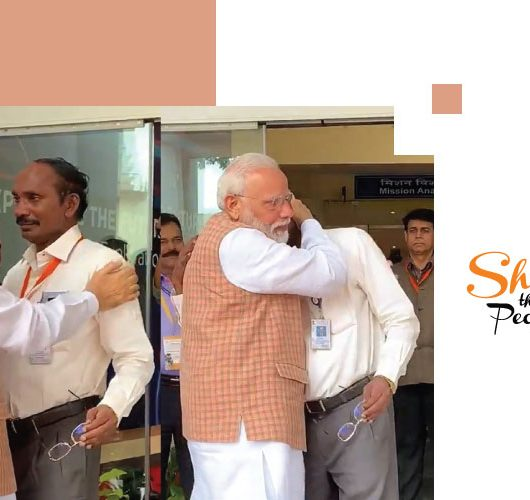ISRO Chief Sivan Cries Modi Hugs