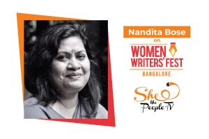 women writers' fest sessions