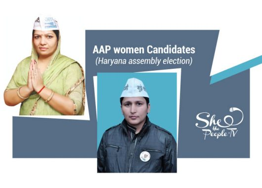 AAP women candidates haryana elections