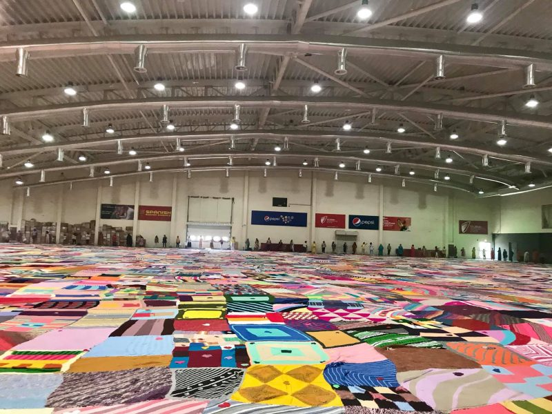 world's largest blanket UAE