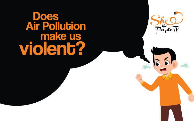 air pollution violent behaviour
