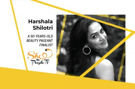 Harshala Shilotri, a 50 years old mum and a beauty pageant finalist