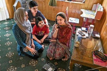 Kashmir Getting Communication Restored