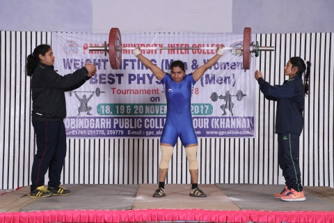 Veerjeet Kaur weightlifting