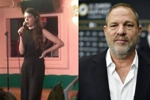 Kelly Bachman took to facebook to share her experience at comedy night with Harvey Weinstein as a special guest