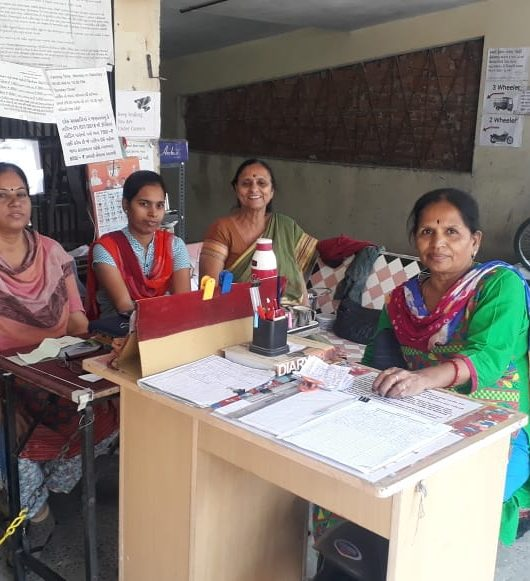 Ahmedabad Women Parking Agents