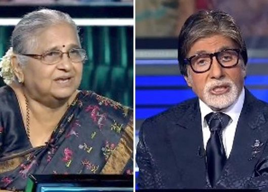 sudha-murthy-talks-about-her-life-while-growing-up-in-kbc's-finale