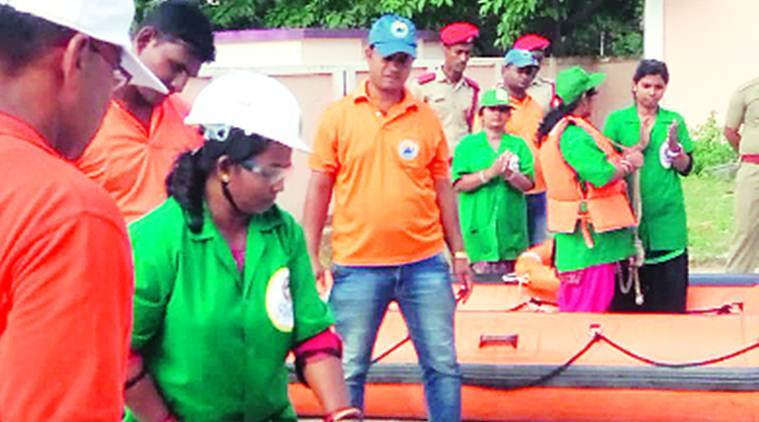 Odisha Women Learn Rescue Cyclone