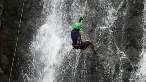 Haritha, 21, The Brand Ambassador Of Second Water Rappelling World Cup By WRWCOC