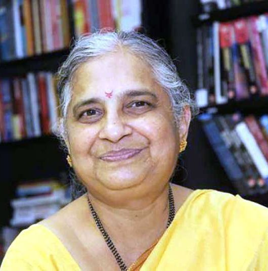 Sudha Murty helps siblings, sudha murty term chairperson online classes