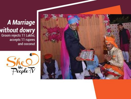 rejects dowry
