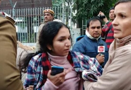 Kawalpreet Kaur Police Detained