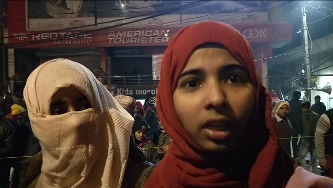 Shaheen Bagh's Young Girls