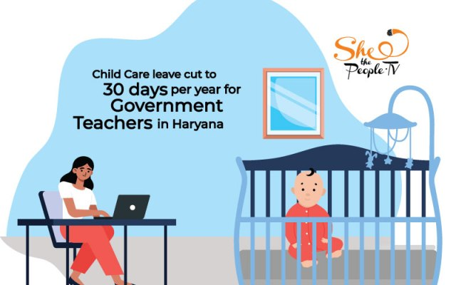 Child Care Leaves Cut To 30 Days In A Year