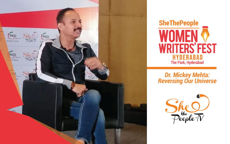 Dr Mickey Mehta Women Writers Fest