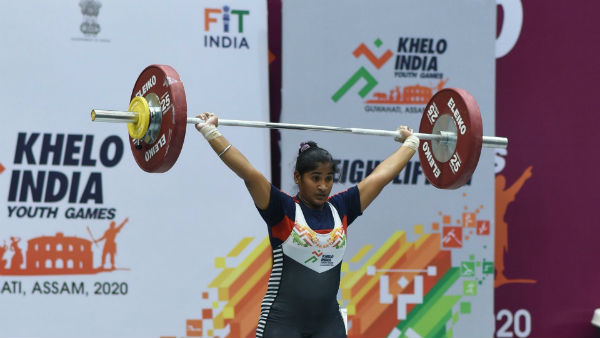 Poorna Sri Wins Weightlifting Gold