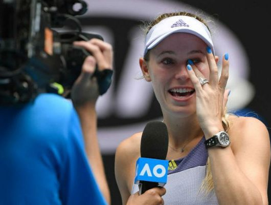 Former world number one Caroline Wozniacki retire
