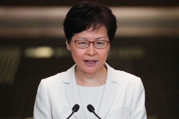 WEF 2020: Carrie Lam Defends Government Action Against Hong Kong Protests