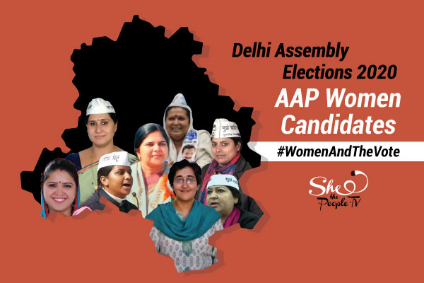Delhi Election Eight Women AAP