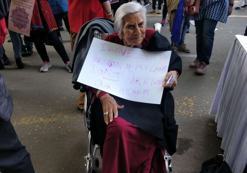 85-Year-Old Protester