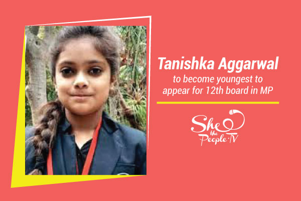 MP Girl Youngest 12th boards