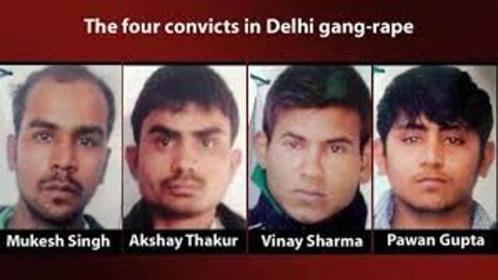 The Four Convicts Of Nirbhaya Case