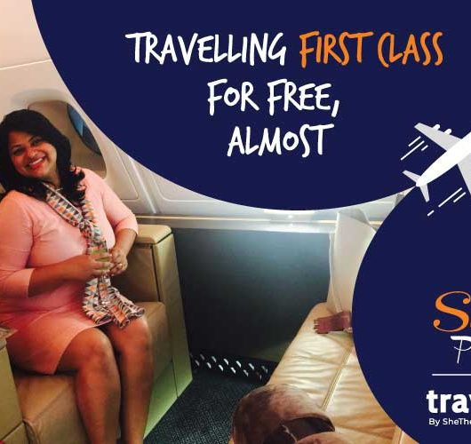 flying business class free