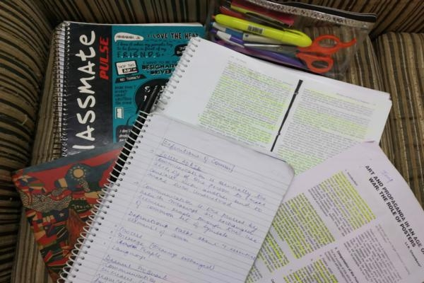 study material college