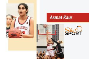 Asmat Kaur basketball