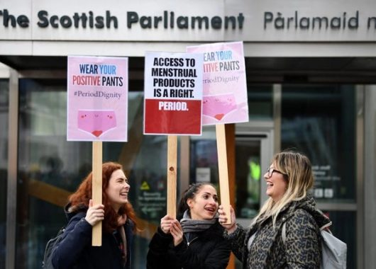 period-poverty:-scotland-closer-to-making-sanitary-products-free-for-all
