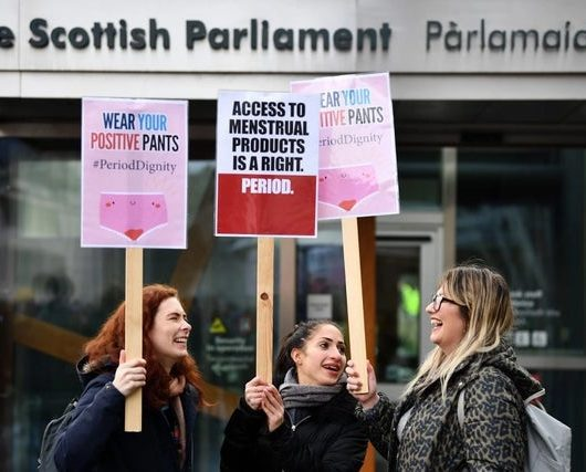 Scotland Free Sanitary Products