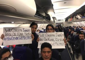 indigo flight protest