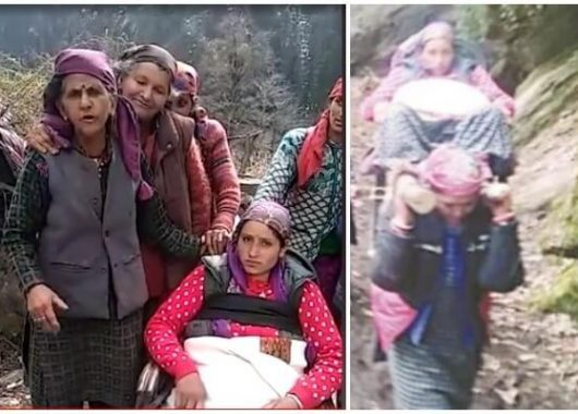 kullu-women-carry-expecting-mother-for-18-km-to-reach-hospital