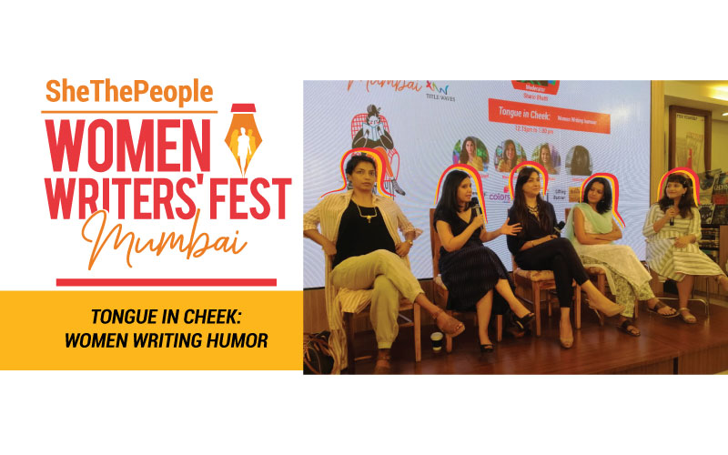 Women writing humour