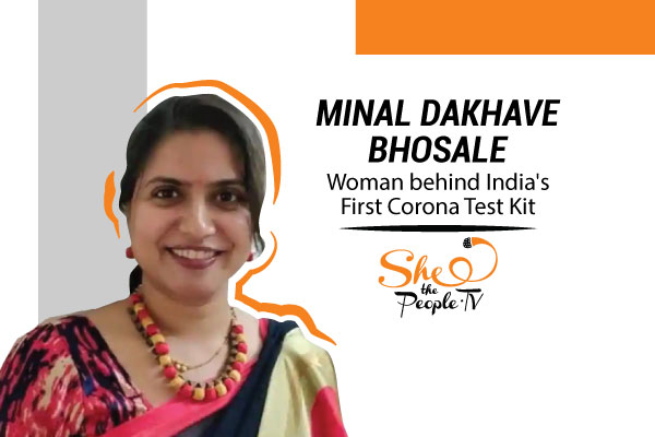 India's first coronavirus testing kit is here. She made it happen
