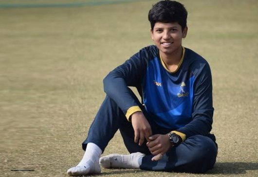 Sixteen-year-old all-rounder Richa Ghosh has donated Rs 1 lakh for the fight against the COVID-19 pandemic
