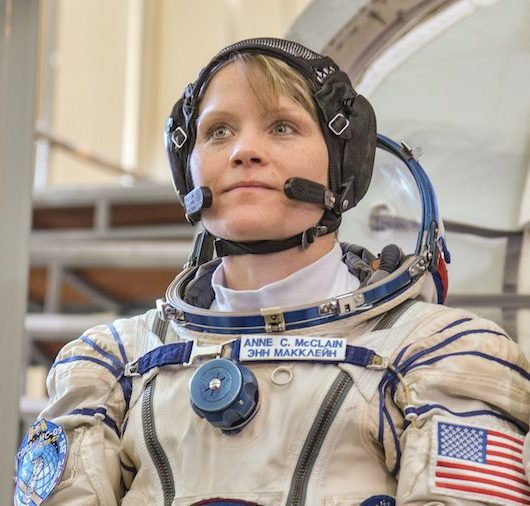 anne mcclain astronaut social distancing tips