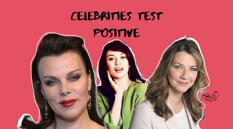 celebrities test positive