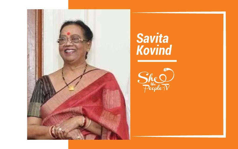 First Lady Savita Kovind