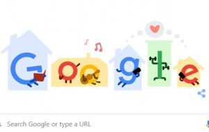 Google Doodle highlights precautions against coronavirus