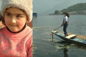 seven-year-old-girl-who-has-been-cleaning-dal-lake-for-two-years,-features-in-hyderabad-school-books