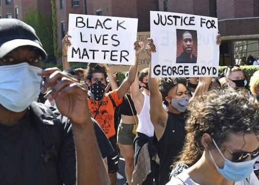 George Floyd Death and All Lives Matter hashtag