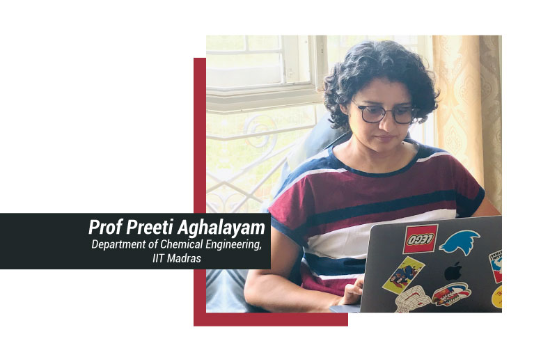 Prof-Preeti-Aghalayam, Women in Stem, women in Indian IITs